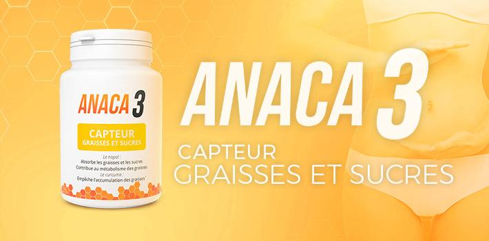Pourquoi acheter Anaca 3 capteur graisses et sucres?