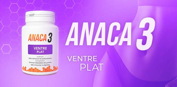 Anaca 3 ventre plat : Composition et posologie