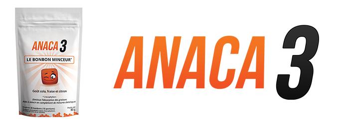Anaca3 le bonbon minceur : Pendant un régime ?