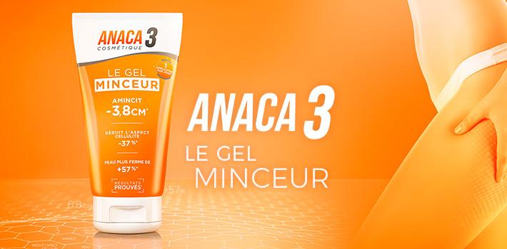 Le gel minceur Anaca3 : Avis sur ce nouveau produit