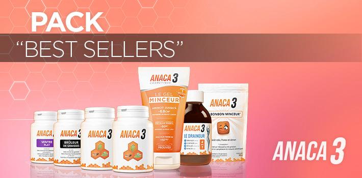 Relevez votre défi minceur, avec le pack Best-Sellers Anaca3