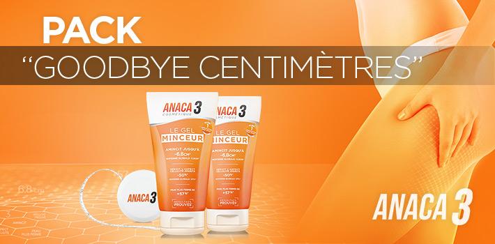 Réduire l'aspect cellulite avec le pack Goodbye Centimètres de Anaca3