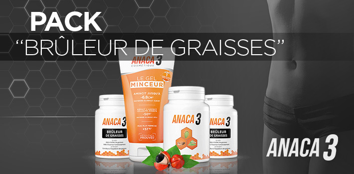 Pack spécial graisses de Anaca3, une aide pour brûler les graisses ?