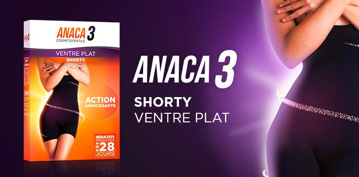 Le shorty ventre plat Anaca3, pour s'affiner toute la journée