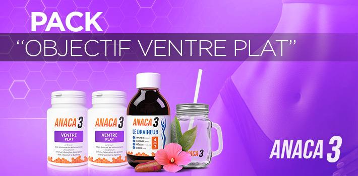 Le pack Objectif ventre plat de Anaca3 : Pourquoi l'utiliser ?