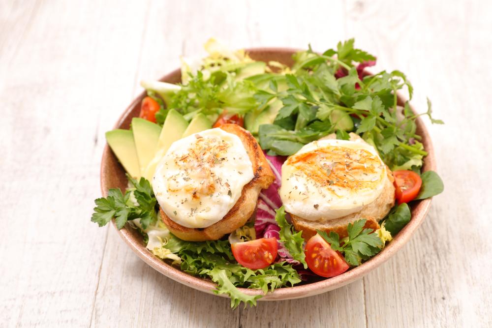 Salade chèvre chaud et ses calories
