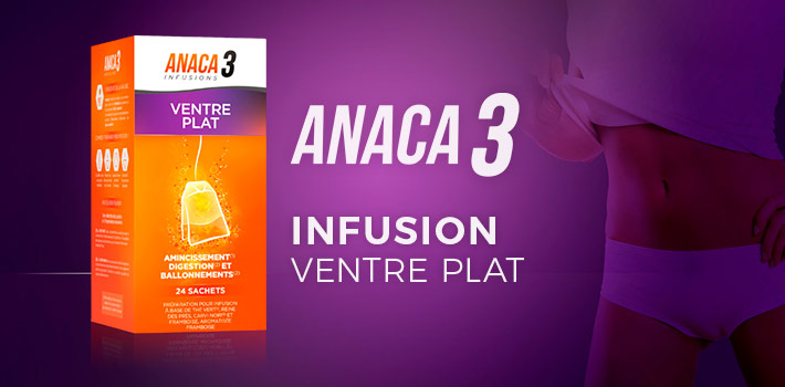 Anaca3 Infusion ventre plat : efficace ?