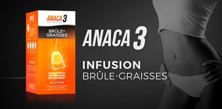Anaca3 infusion brûle-graisses : efficace ?