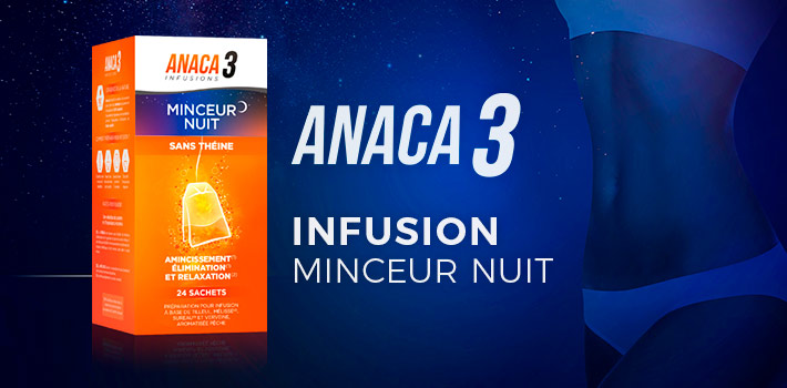 Anaca3 infusion minceur nuit : efficace ?