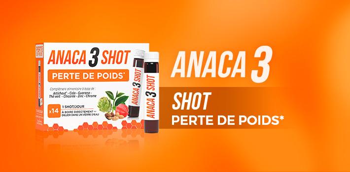Shot perte de poids Anaca3 : comment ça marche ?