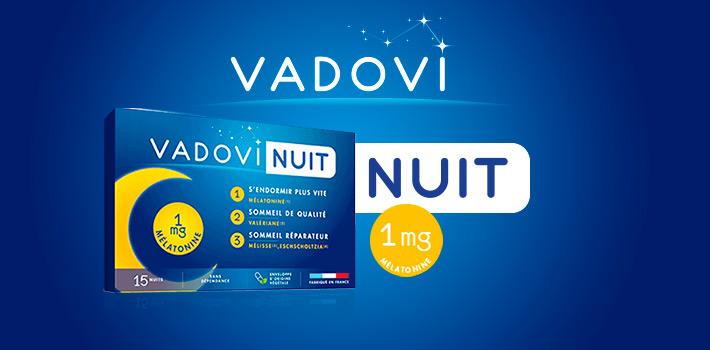 Vadovi Nuit : idéal pour une nuit tranquille