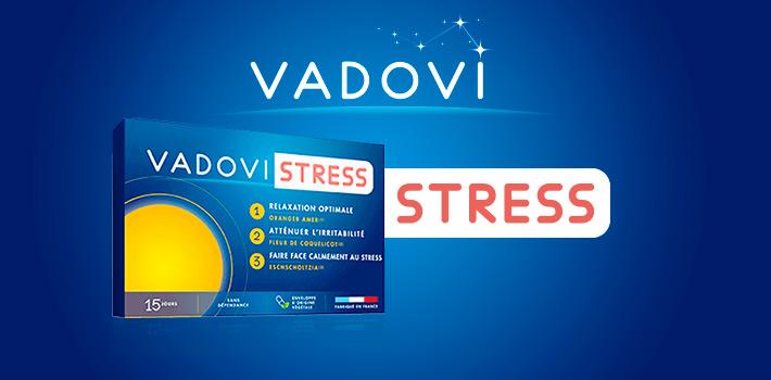 Vadovi Stress pour plus de sérénité au quotidien