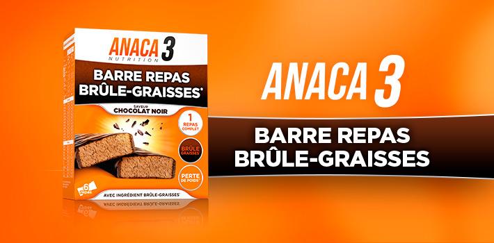 Anaca3 Barre repas brûle graisses : où l'acheter ?